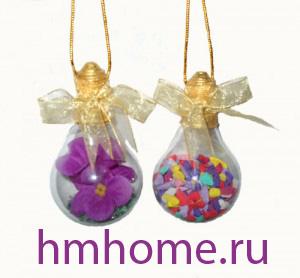 Сувениры из электрических лампочек. Мастер-класс