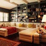 Гостиная — смесь традиционных и современных стилей