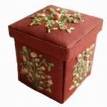 Коробка и комод для рукоделия