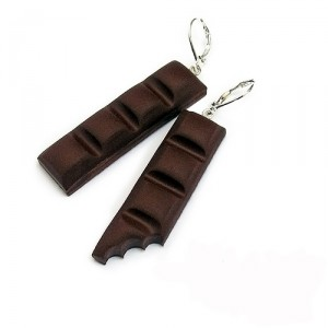 Серьги Шоколад