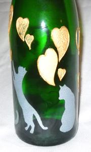 Бутылка шампанского к празднику. Мастер-класс