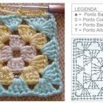 Разные мотивы - разные схемы для вязания. маленького шедевра связанного крючком - это схема вязания мотива...