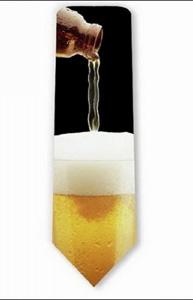 Галстук для любителей пива