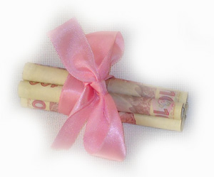 Деньги дарим красиво