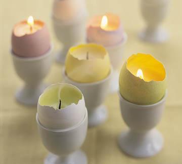 Пасхальные свечи. Мастер-класс