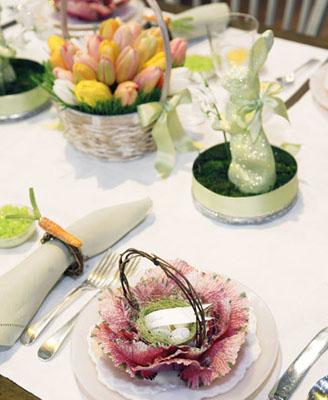 Декорирование Пасхального стола