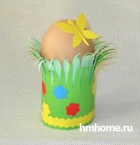 Упаковка для яиц своими руками пасхальных