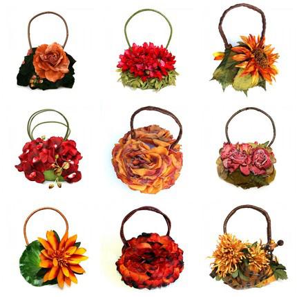 Сумки-цветы