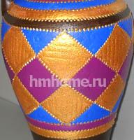 Роспись акрилом по керамике