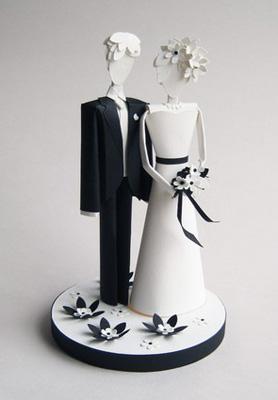 Свадебные куклы из бумаги