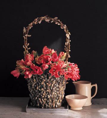 Композиции из весенних цветов