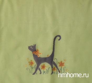 Шарф, роспись по ткани, ручная работа, хендмейд