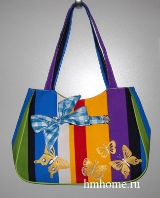 Ручная роспись сумки