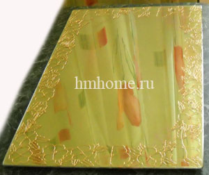 Витражная роспись зеркала
