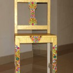 Мебель, декорированная стразами