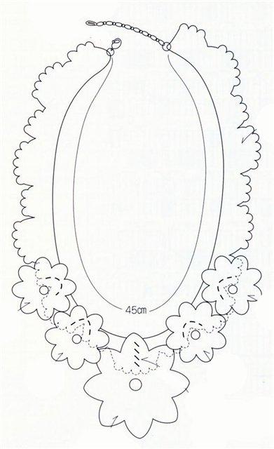 Вязаное крючком украшение