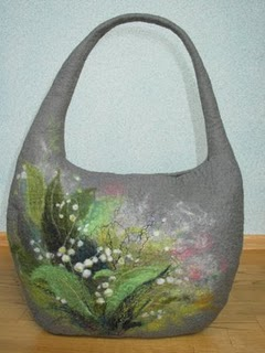 Валяная сумка своими руками