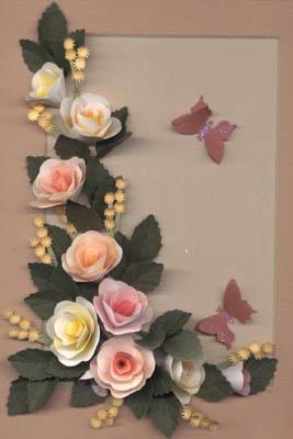 Бумажные цветы Дженни jafek-Джонс