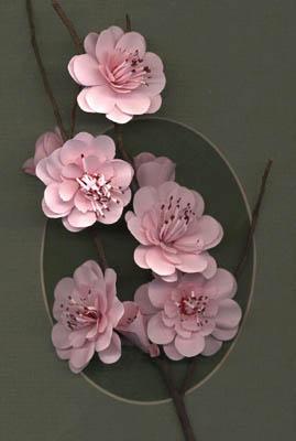 Цветы из бумаги Дженни jafek-Джонс