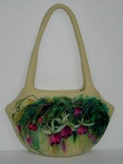 Войлочная сумка Корзина.