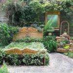 Спальня в саду
