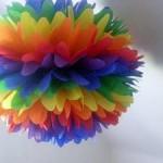 Бумажные цветы — мастер-класс