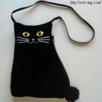 Сумка  Чёрный кот