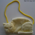 Сумка Белая кошка