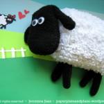 Мягкая игрушка овца