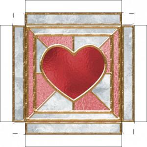 Упаковка для подарка влюблённым