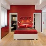 Красный цвет и интерьер