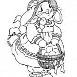 Шаблоны пасхальных кроликов