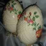 Пасхальные яйца — декупаж
