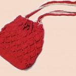 Вязаные сумки — модный аксессуар