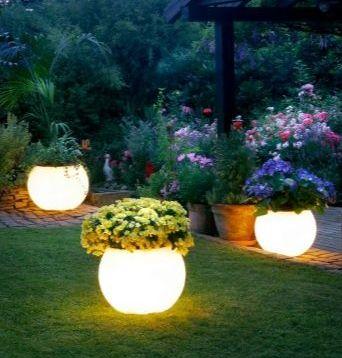 Садовое и парковое освещение светильниками и фонарями 1