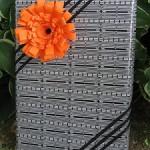 Бумажный цветок для упаковки от Ann Martin