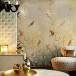 Мозаика в интерьере: модное решение