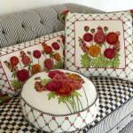 Подушки с обьемным декором | Наполнители для подушек