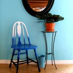 Переделка деревянного стула