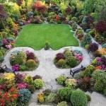 Цветущий сад семьи Ньютонов