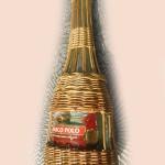 Мастер класс по оплетению бутылки лозой