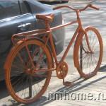 Ограждение из велосипедов