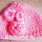 Вязаные шапки на осень
