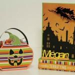 Упаковка и открытка к Хэллоуину