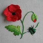 Симбиоз вышивки и вязания