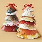 Декоративное преображение старых рождественских открыток