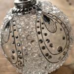 Новогодний декор — декорирование стеклянных шаров
