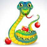 Символ 2013 года — шаблоны змеи