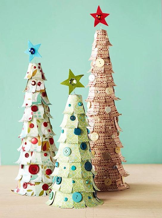 Как провести Игрушки из бумаги на елку