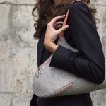 Удобная войлочная сумка
